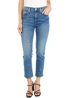 Hudson Jeans Barbara High-Waist Crop Straight in Balance