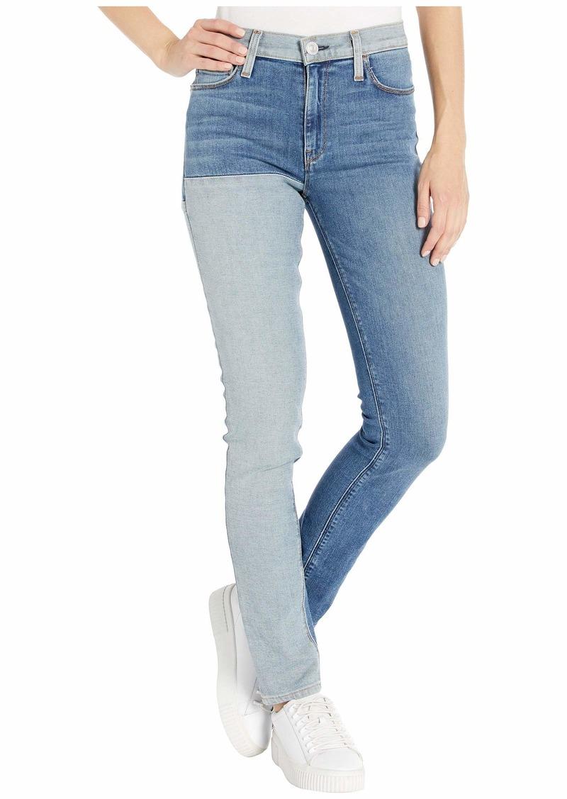 Hudson Jeans Barbara High-Waist Skinny in Inverted Indigo