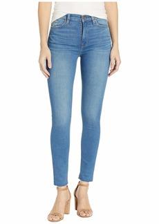 Hudson Jeans Barbara High-Waist Super Skinny Ankle in Slyfox