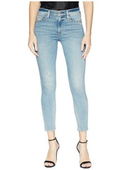 Hudson Jeans Barbara High-Waist Super Skinny Crop Jeans in Dangerous Wild Nothing
