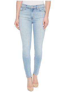 Hudson Jeans Barbara High Waist Super Skinny Five-Pocket Jeans in Seventeen