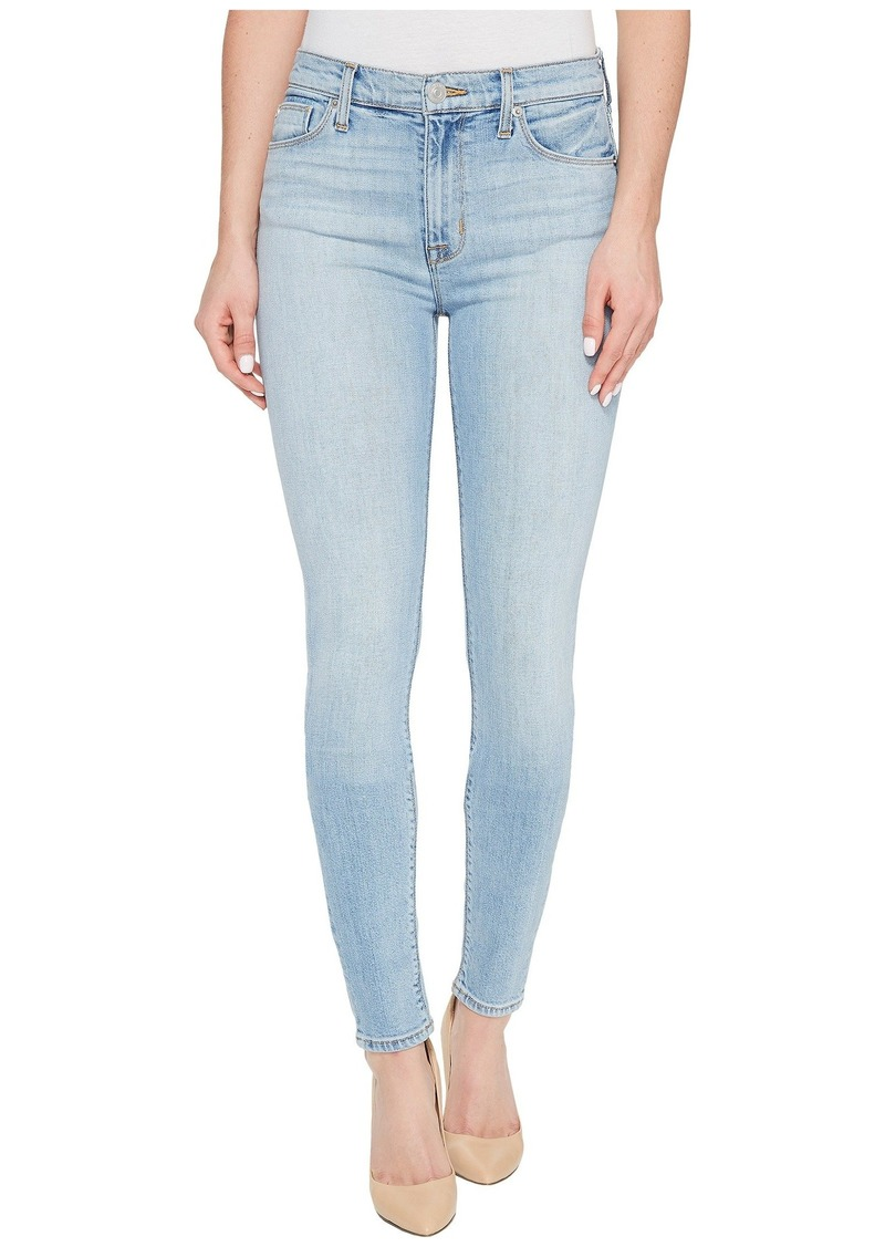 Hudson Jeans Barbara High Waist Super Skinny Five-Pocket Jeans in Seventeen