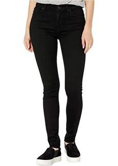 Hudson Jeans Barbara High-Waist Super Skinny in Black