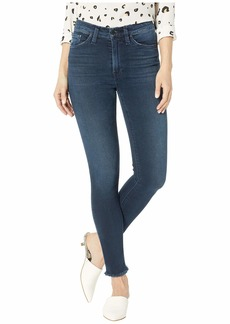Hudson Jeans Barbara High-Waist Super Skinny in Dest Southerly