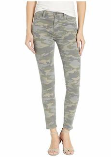 Hudson Jeans Barbara High-Waist Super Skinny in Surplus Camo