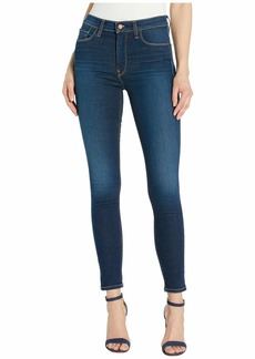 Hudson Jeans Barbara High-Waisted Ankle Skinny Jeans in Elevate