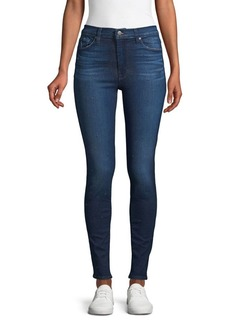 Hudson Jeans Barbara High-Waisted Super Skinny Jeans
