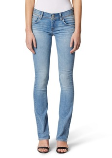 Hudson Jeans Beth Mid Rise Baby Bootcut Jeans
