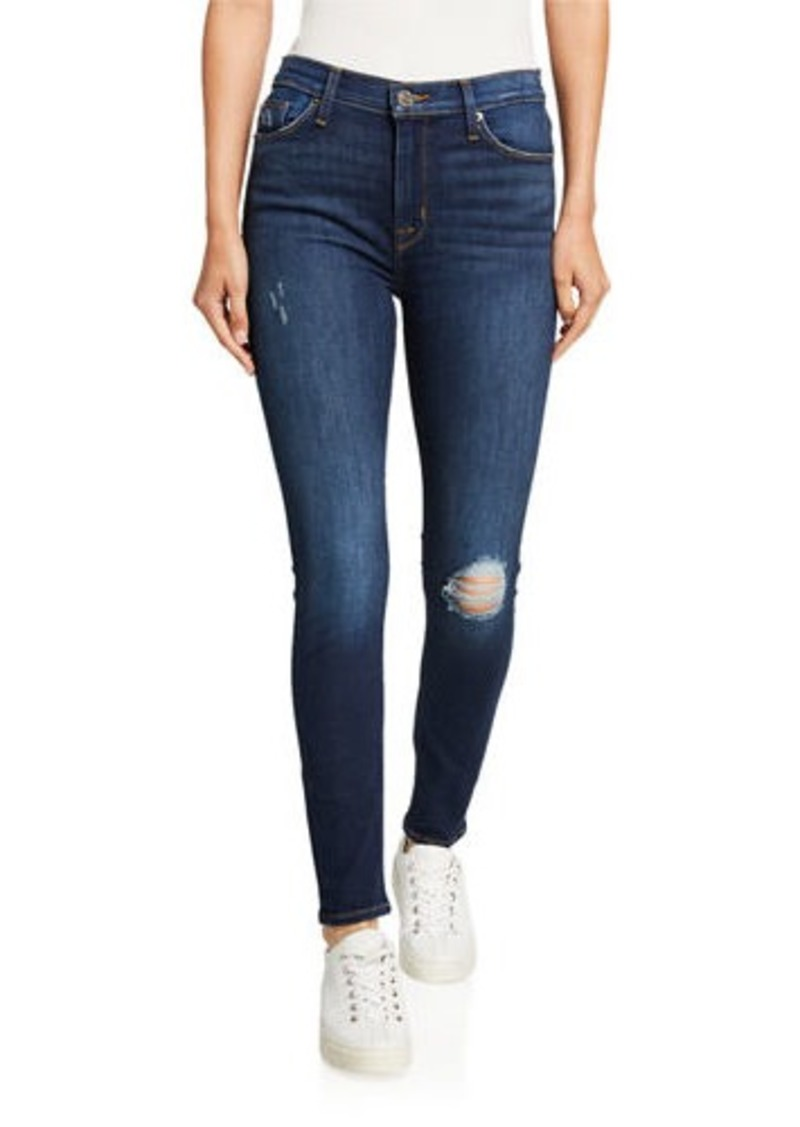 Hudson Jeans Blair High-Waist Skinny Jeans