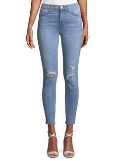 Hudson Jeans Blair High-Waist Super Skinny Ankle Jeans