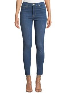 Hudson Jeans Blair Raw-Hem Ankle Jeans