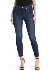 Hudson Jeans Blair Super Skinny Raw Ankle Jeans