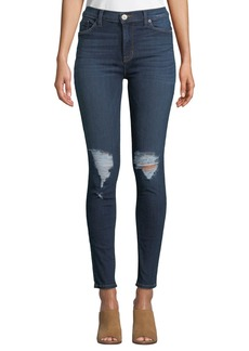 Hudson Jeans Blaire Distressed Skinny Jeans