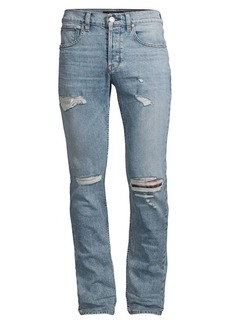 Hudson Jeans Blake Slim-Fit Combine Distressed Jeans