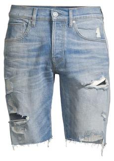 Hudson Jeans Blake Distressed Cutoff Denim Shorts