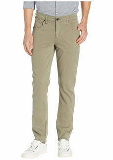 Hudson Jeans Blake Slim Straight Twill in Dusty Olive