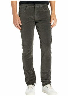 Hudson Jeans Blake Slim Straight Zip Fly in Reactive Dark Grey