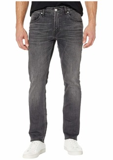 Hudson Jeans Blake Slim Straight Zip in Graver