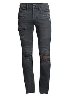 Hudson Jeans Blinder Biker Distressed Jeans