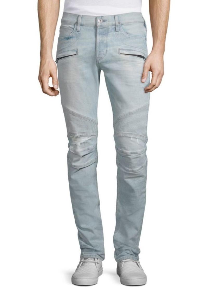 44d0f8affcf Hudson Jeans Blinder Biker Skinny Fit Jeans Now $101.99