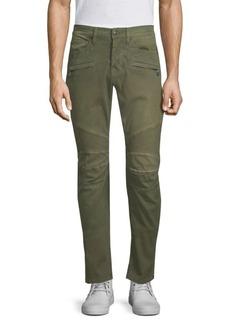 Hudson Jeans Blinder Zip-Front Biker Skinny Jeans