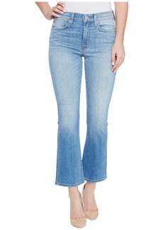 Hudson Jeans Brixx High-Rise Crop Flare Five-Pocket Jeans in Stunner