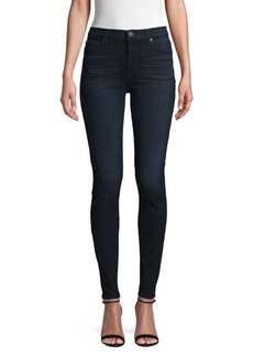 Hudson Jeans Buttoned Skinny Jeans