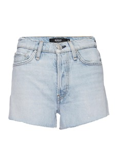 Hudson Jeans Cara High-Rise Cut-Off Denim Shorts