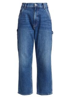 Hudson Jeans Carpenter High-Rise Loose Straight Jeans