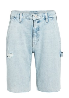 Hudson Jeans Carpenter Knee-Length Denim Shorts