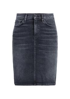 Hudson Jeans Centerfold High-Rise Denim Skirt