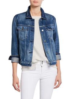 Hudson Jeans Classic Button-Front Denim Trucker Jacket