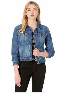 Hudson Jeans Classic Denim Jacket in Revolt