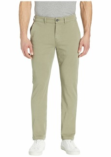 Hudson Jeans Classic Slim Straight Chino Pants in Dusty Olive