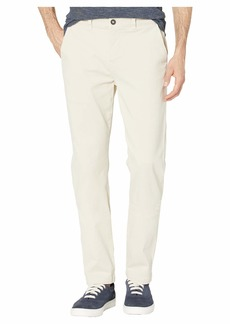 Hudson Jeans Classic Slim Straight Chino Pants in Sand