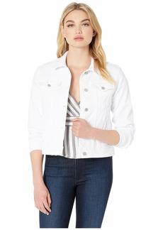 Hudson Jeans Classic Trucker Jean Jacket in White