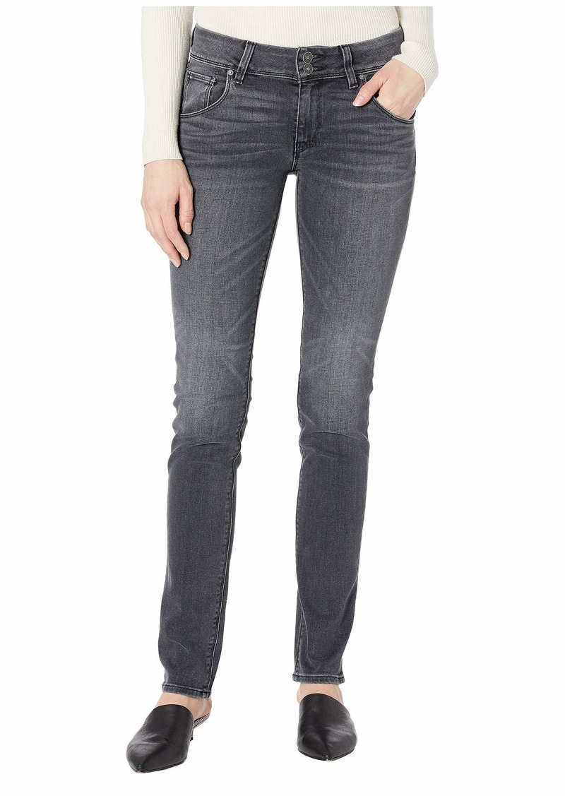 Hudson Jeans Collin Classic Pocket Mid-Rise Skinny in Jet Fuel