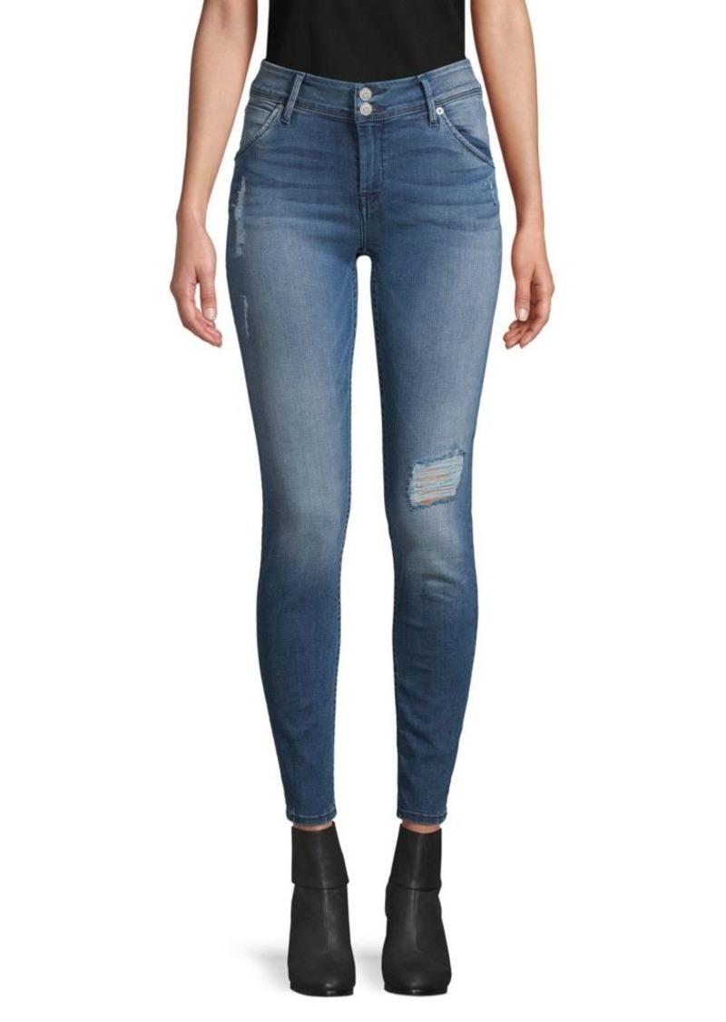 Hudson Jeans Collin Destructed Ankle Skinny Jeans