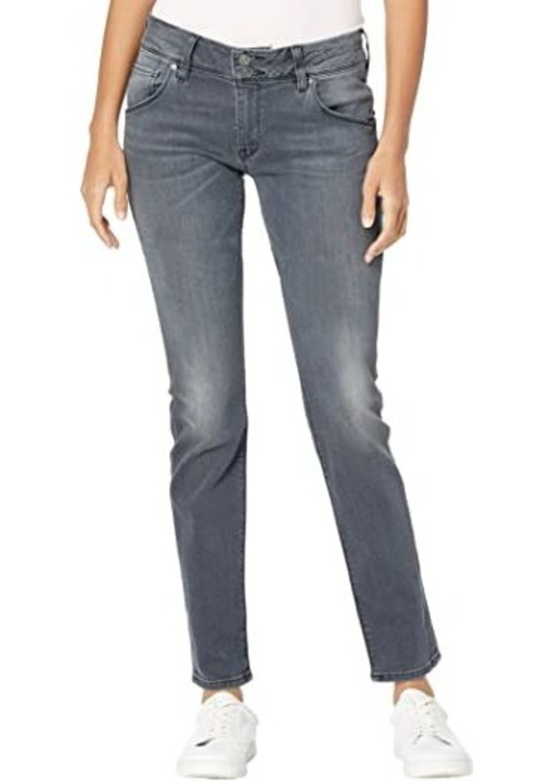 Hudson Jeans Collin Mid-Rise Skinny Flap in Passengers