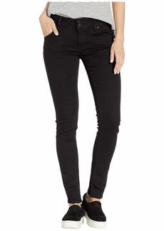 Hudson Jeans Collin Mid-Rise Skinny in Black