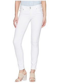 Hudson Jeans Collin Mid-Rise Skinny in Optical White