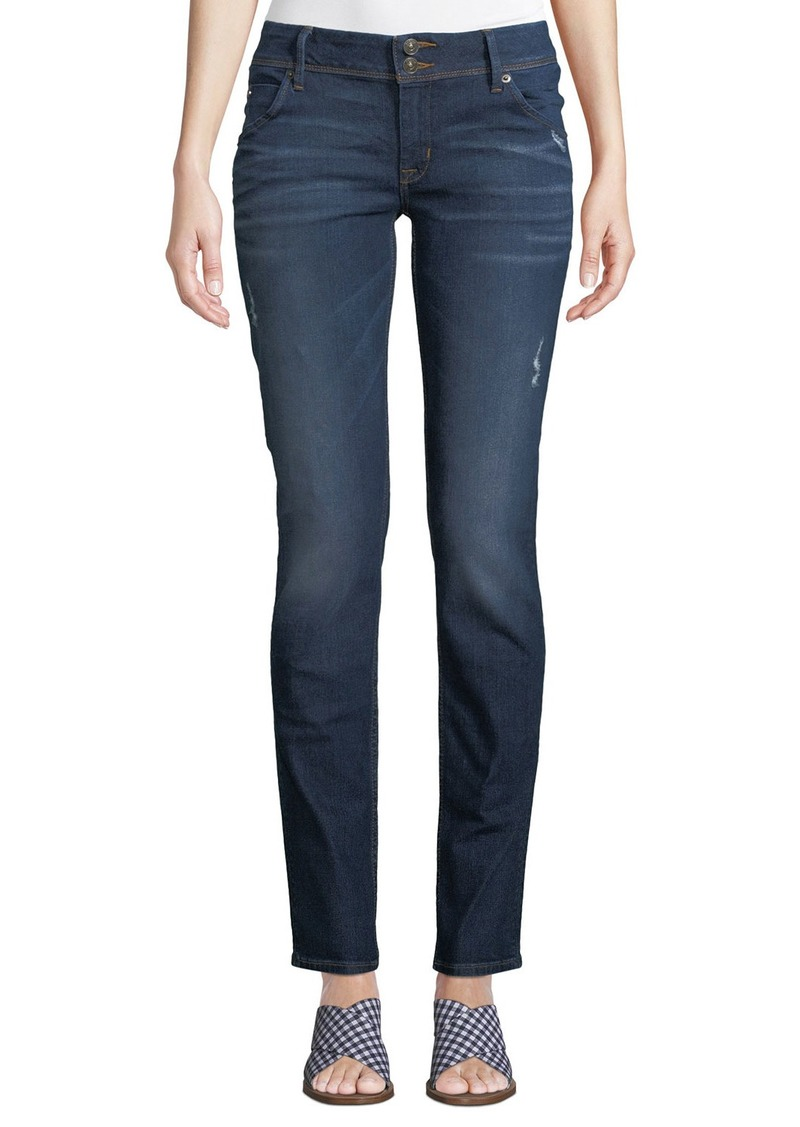 Hudson Jeans Collin Mid-Rise Skinny Jeans