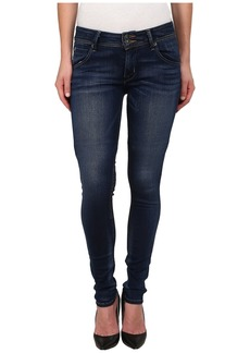 Hudson Jeans Collin Mid Rise Supermodel Skinny Jeans in Revalation