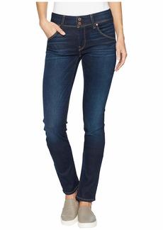 Hudson Jeans Collin Supermodel Mid-Rise Skinny Jeans in Fullerton