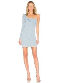 X Baja East Contour Mini Dress