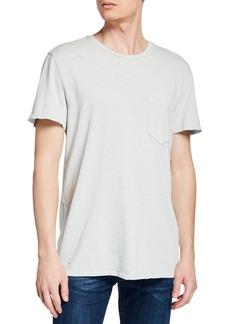 Hudson Jeans Crewneck Pocket T-Shirt
