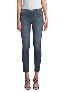 Hudson Jeans Cropped Skinny Jeans