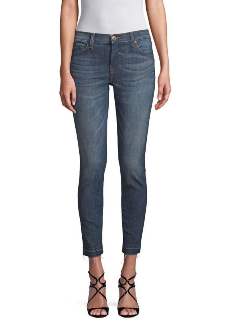 Hudson Jeans Cropped Skinny Jeans