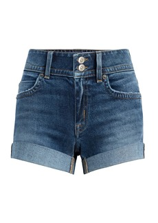 Hudson Jeans Croxley Mid-Thigh Denim Shorts