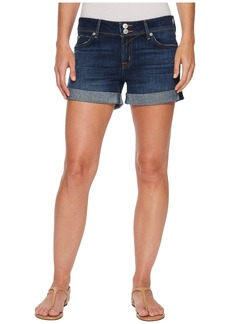 Hudson Jeans Croxley Mid Thigh Rolled Shorts in Double Deal